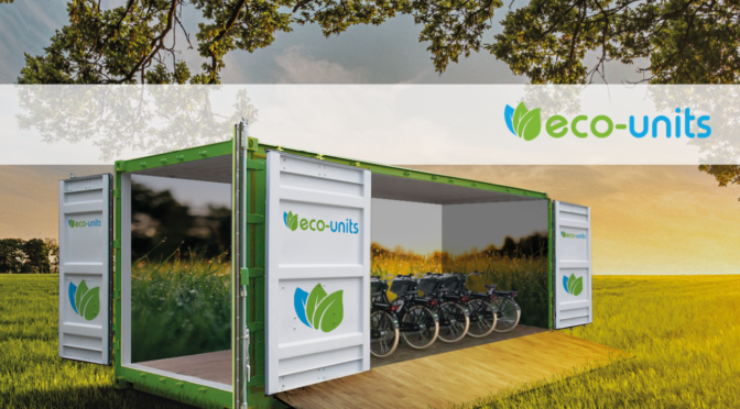 Eco-Units fietsenstalling